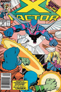 Cover Thumbnail for X-Factor (Marvel, 1986 series) #44 [Newsstand]