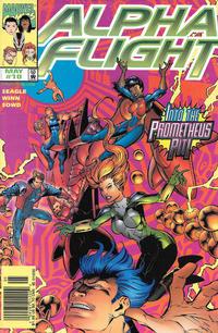 Cover Thumbnail for Alpha Flight (Marvel, 1997 series) #10 [Newsstand]