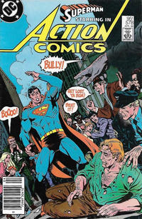 Cover Thumbnail for Action Comics (DC, 1938 series) #578 [Canadian]
