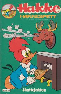 Cover Thumbnail for Hakke Hakkespett (Semic, 1977 series) #6/1980