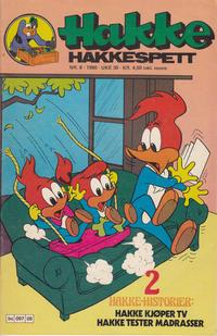 Cover Thumbnail for Hakke Hakkespett (Semic, 1977 series) #8/1980