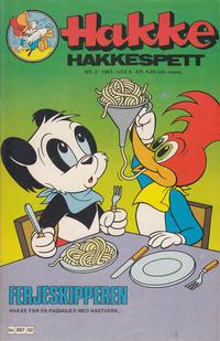 Cover Thumbnail for Hakke Hakkespett (Semic, 1977 series) #2/1981