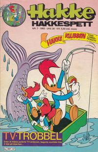 Cover Thumbnail for Hakke Hakkespett (Semic, 1977 series) #7/1982