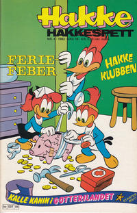 Cover Thumbnail for Hakke Hakkespett (Semic, 1977 series) #4/1982
