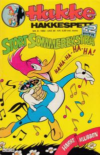 Cover Thumbnail for Hakke Hakkespett (Semic, 1977 series) #8/1982