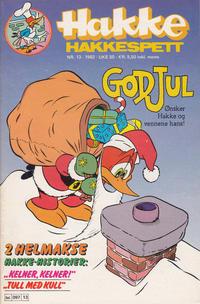 Cover Thumbnail for Hakke Hakkespett (Semic, 1977 series) #13/1982