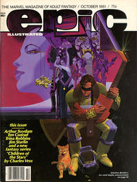 Cover Thumbnail for Epic Illustrated (Marvel, 1980 series) #8 [British]