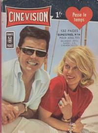 Cover Thumbnail for Cinévision (Arédit-Artima, 1962 series) #14