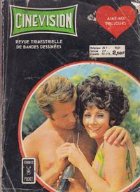 Cover Thumbnail for Cinévision (Arédit-Artima, 1962 series) #53