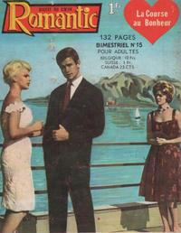 Cover Thumbnail for Romantic (Arédit-Artima, 1960 series) #15