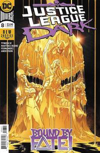 Cover Thumbnail for Justice League Dark (DC, 2018 series) #8 [Alvaro Martinez Bueno & Raul Fernandez Cover]