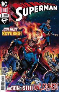 Cover Thumbnail for Superman (DC, 2018 series) #8 [Ivan Reis & Joe Prado Cover]