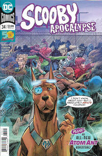 Cover Thumbnail for Scooby Apocalypse (DC, 2016 series) #34