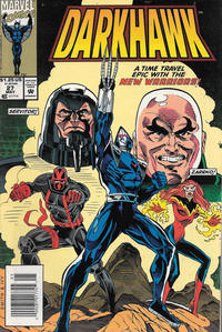 Cover Thumbnail for Darkhawk (Marvel, 1991 series) #27 [Newsstand]