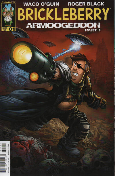 Cover for Brickleberry (Dynamite Entertainment, 2016 series) #1 [Cover A]
