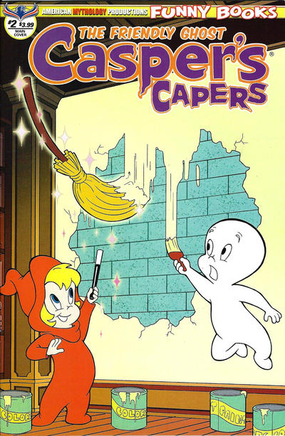 Cover for Casper's Capers (American Mythology Productions, 2018 series) #2 [Retro Cover]