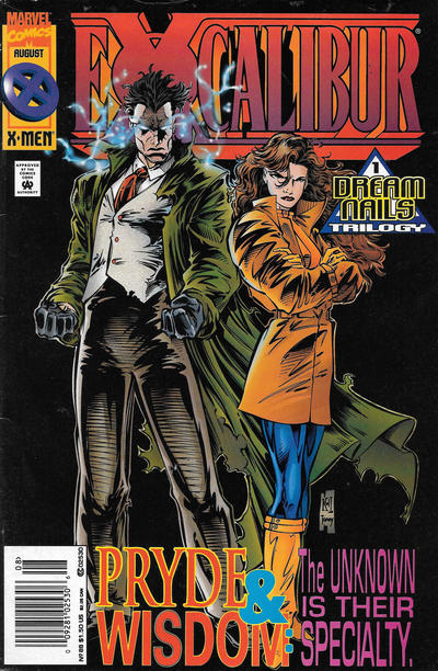 Cover for Excalibur (Marvel, 1988 series) #88 [Newsstand]