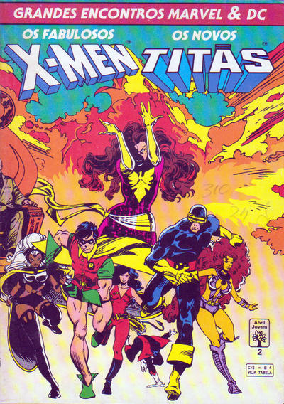 Cover for Grandes Encontros Marvel & DC (Editora Abril, 1993 series) #2