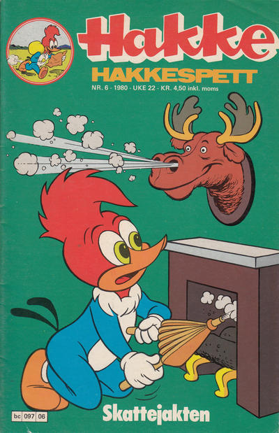 Cover for Hakke Hakkespett (Semic, 1977 series) #6/1980