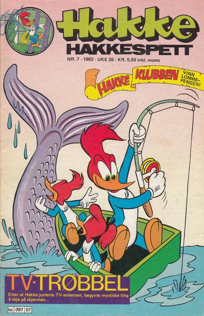 Cover for Hakke Hakkespett (Semic, 1977 series) #7/1982
