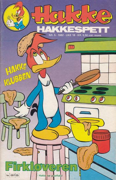 Cover for Hakke Hakkespett (Semic, 1977 series) #5/1982
