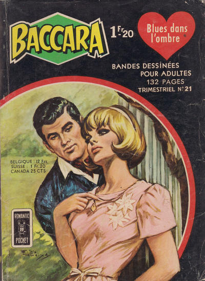 Cover for Baccara (Arédit-Artima, 1964 series) #21