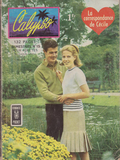 Cover for Calypso (Arédit-Artima, 1962 series) #15