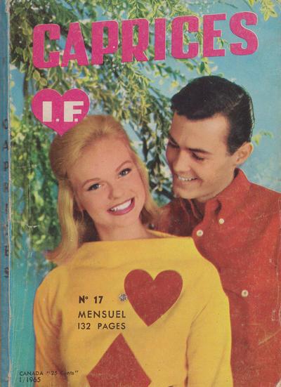 Cover for Caprices (Edi-Europ, 1963 series) #17