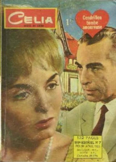 Cover for Celia (Arédit-Artima, 1962 series) #7