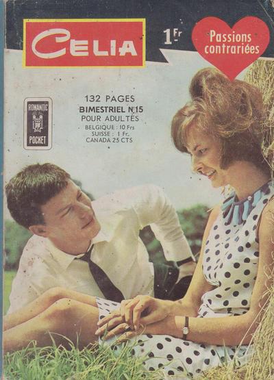 Cover for Celia (Arédit-Artima, 1962 series) #15