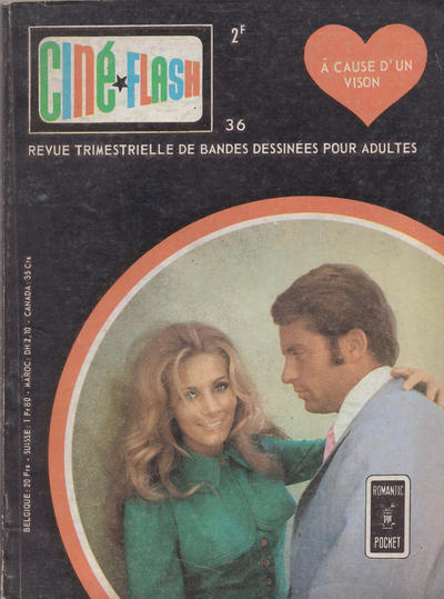 Cover for Ciné*Flash (Arédit-Artima, 1962 series) #36