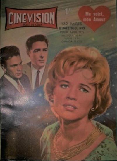 Cover for Cinévision (Arédit-Artima, 1962 series) #8