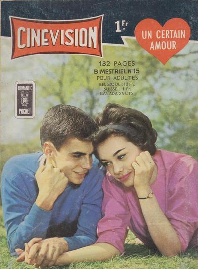 Cover for Cinévision (Arédit-Artima, 1962 series) #15