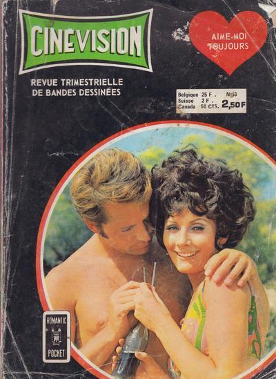Cover for Cinévision (Arédit-Artima, 1962 series) #53