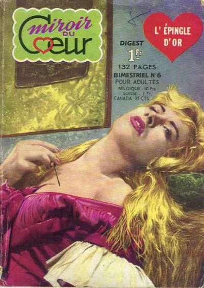 Cover for Miroir du Cœur (Arédit-Artima, 1962 series) #6