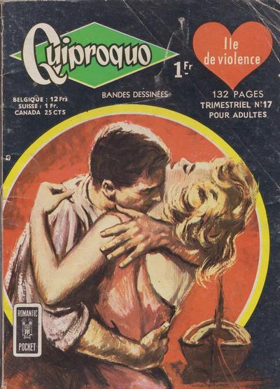 Cover for Quiproquo (Arédit-Artima, 1963 series) #17
