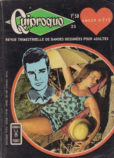 Cover for Quiproquo (Arédit-Artima, 1963 series) #25