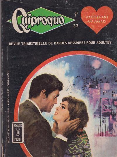 Cover for Quiproquo (Arédit-Artima, 1963 series) #33