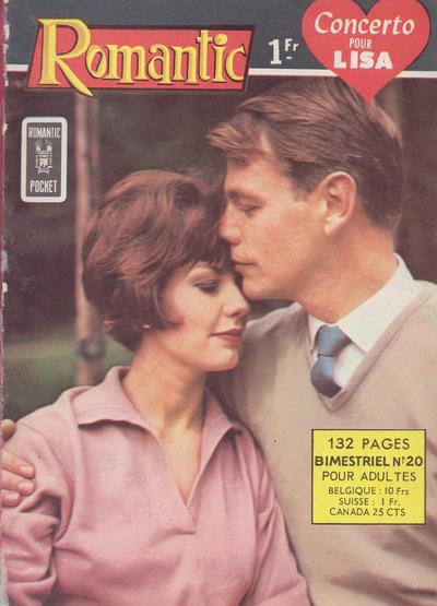 Cover for Romantic (Arédit-Artima, 1960 series) #20