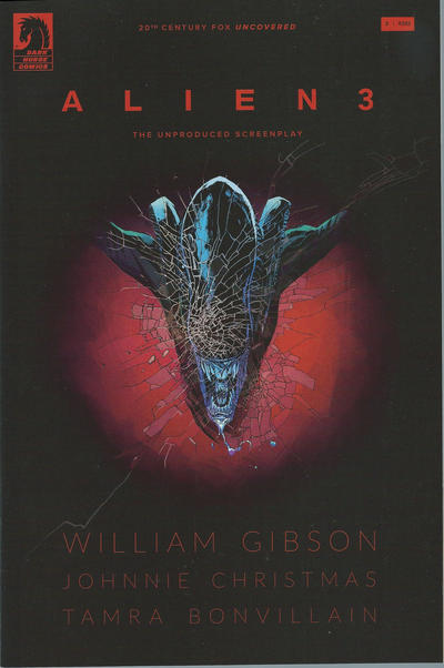 Cover for William Gibson's Alien 3 (Dark Horse, 2018 series) #3 [Johnnie Christmas Cover]