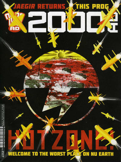 Cover for 2000 AD (Rebellion, 2001 series) #2117