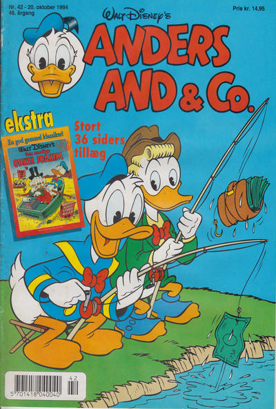 Cover for Anders And & Co. (Egmont, 1949 series) #42/1994