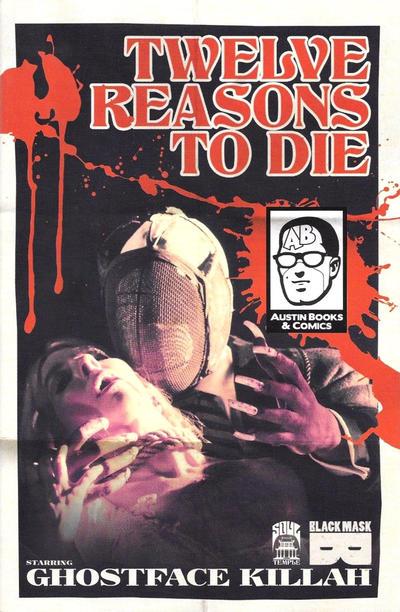 Cover for 12 Reasons to Die (Black Mask Studios, 2013 series) #1 [Newbury Comics Exclusive]
