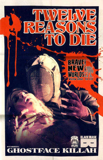 Cover for 12 Reasons to Die (Black Mask Studios, 2013 series) #1 [Brave New Worlds Exclusive]
