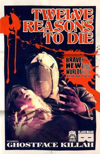 Cover for 12 Reasons to Die (Black Mask Studios, 2013 series) #1 [Ghost Variant Cover - Jason Jagel]