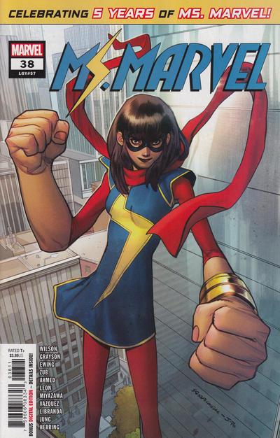 Cover for Ms. Marvel (Marvel, 2016 series) #38
