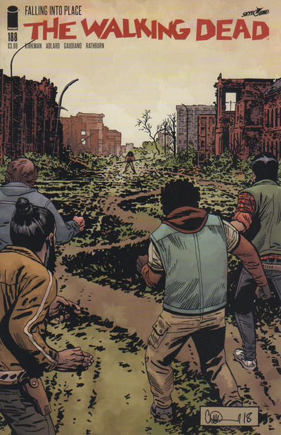 Cover for The Walking Dead (Image, 2003 series) #188