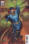 Cover for Doctor Strange (Marvel, 2018 series) #10 [Joe Quesada]