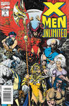 Cover for X-Men Unlimited (Marvel, 1993 series) #5 [Newsstand]
