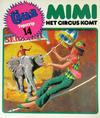 Cover for Tina Topstrip (Oberon, 1977 series) #14 - Mimi - Het circus komt